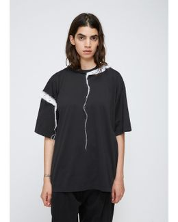Black Short Sleeve Cotton T-shirt