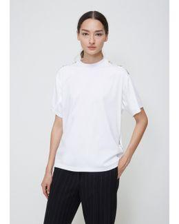 White Studded T-shirt