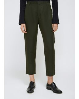 Khaki Green Krissy Trouser