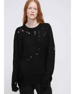 Black Oversize Pullover
