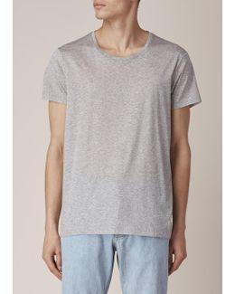 Grey Melange Standard O T-shirt