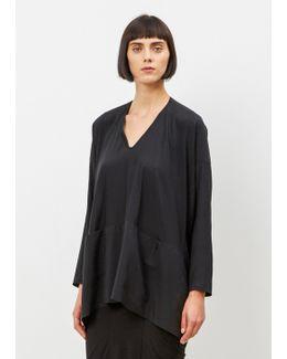 Black Long Sleeve Tasi Top