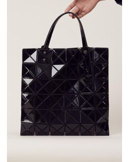 Black Small Lucent Basic Tote