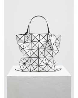 White Small Lucent Basic Tote