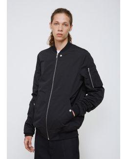 Black Sashed Flight Army Jacket