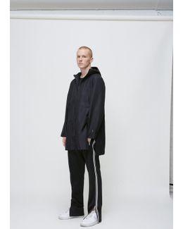 Black Reversible Long Jacket