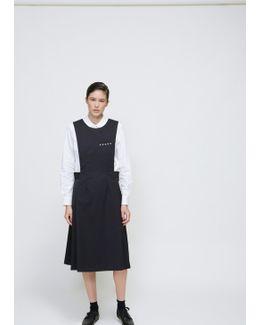 Black Apron Military Dress