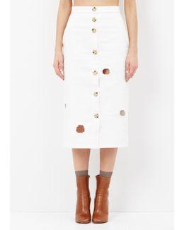 White Josie Skirt