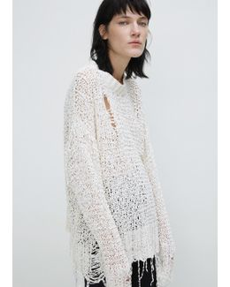 White White Out Sweater