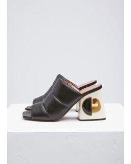 Black Mule Sandal