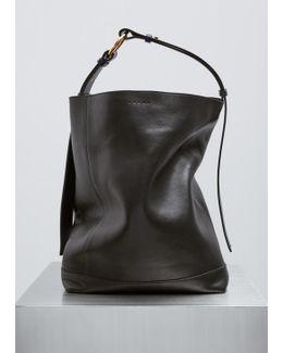 Black + Ink + Nougat Shoulder Bag