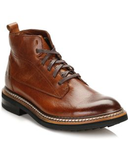Mens Rust Brown Sutter Boots