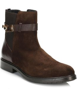 Womens Coffee Bean Brown 9a Ankle Boots