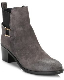 Womens Magnet Grey 1b Ankle Boots