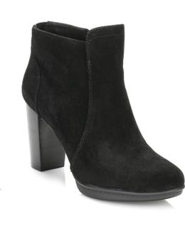 Womens Black 8b Ankle Boots