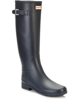 Original Womens Navy Refined Wellington Boots