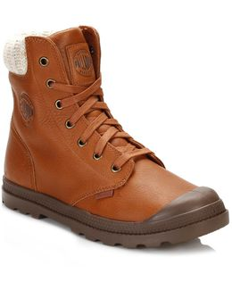 Womens Brown Pampa Hi Knit Lp Boots