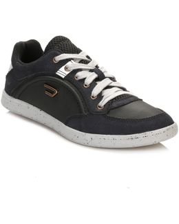 Mens Black Eastcop Starch Trainers