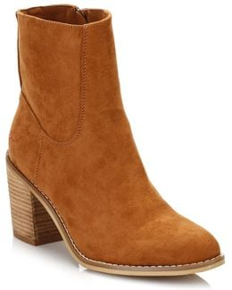 Womens Cinnamon Dannis Ankle Boots