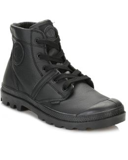 Womens Black Pallabrouse Vl Boots