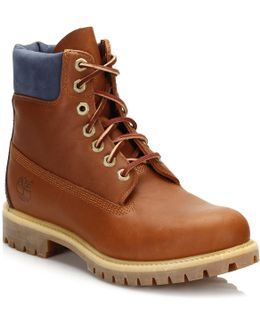 Mens Tan 6 Inch Waterproof Boots