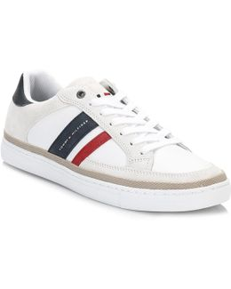 Mens Red/white/black Maze 1 Trainers