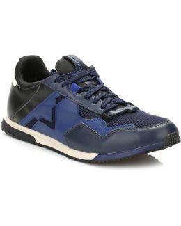 Mens Blue/black S-furry Remmi V Trainers