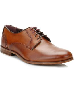 Mens Tans Iront Leather Shoes