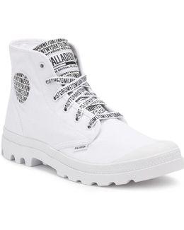 White Pampa Hi 70th Anniversary Boots