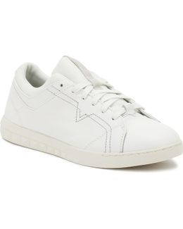 Mens White S-studdzy Lace Trainers