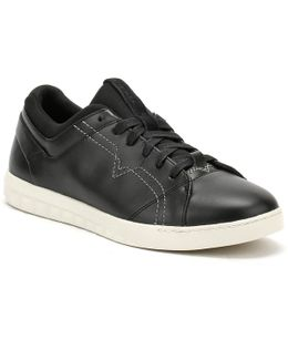 Mens Black S-studdzy Lace Trainers