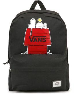 Peanuts Black Realm Backpack