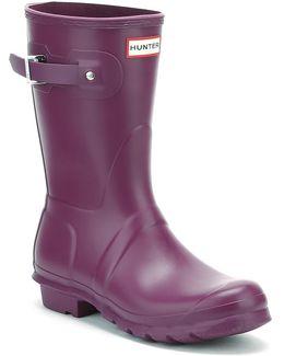 Original Womens Violet Short Wellington Boots