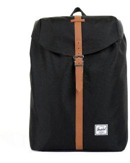 Black Post Mid-volume Backpack