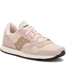 Womens Pink Tan Dxn Vintage Trainers