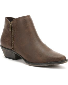Womens Brown Rescue Akron Boots