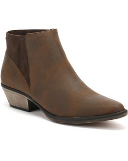 Womens Brown Graham Alarm Boots
