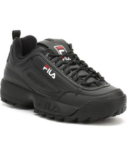 Womens Black Disruptor Low Trainers