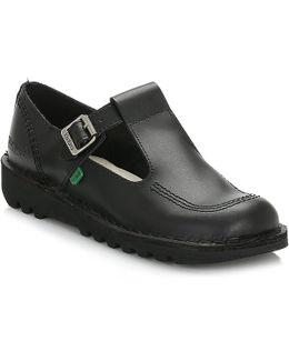 Kick Lo Aztec Black Shoes