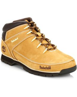 Mens Wheat Euro Sprint Hiker Boots
