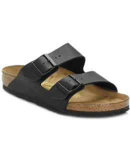 Black Arizona Birko-flor Sandals
