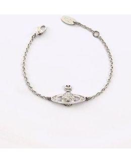 Mini Bas Relief Bracelet Rhodi Colour: Rho