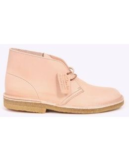 Desert Boot Natural Leather