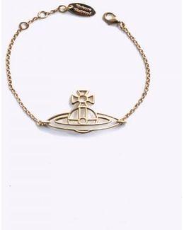 Thin Flat Orb Bracelet