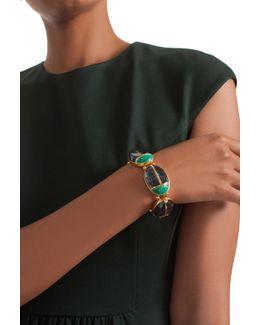 Sunset Ladybug Stretch Bracelet