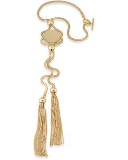 Chain Pendant Tassel Necklace