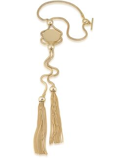 Chain Pendant Tassel Necklace