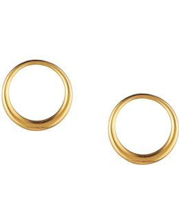 Hollywood Hills Hoop Post Earrings