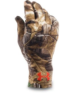 Men's Ua Camo Heatgear® Liner Gloves