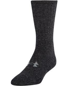 Men's Ua Charged Wool Boot Socks 2-pack
